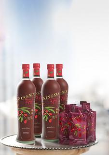NingXia Red_Flaschen & Probepäckchen